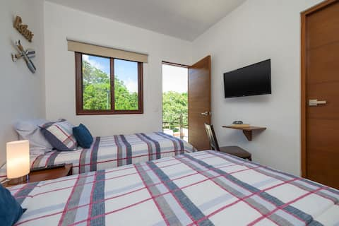 Brand new guest suite #4. Private access. Downtown