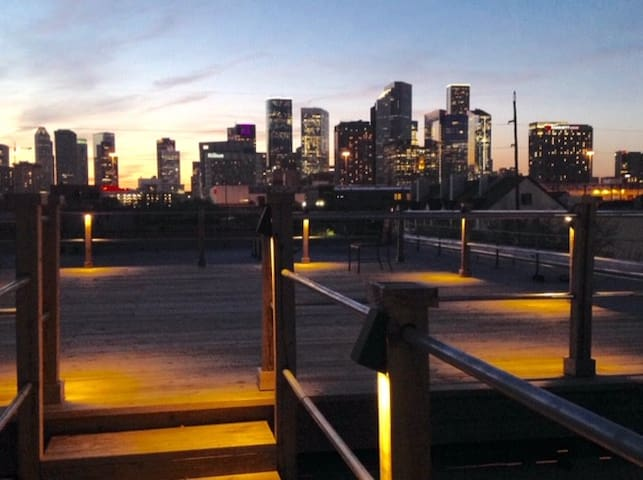 Downtown Loft in the heart of Houston, Texas!