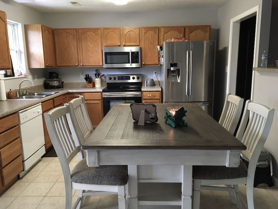 You will have full access to the kitchen, which includes the stove, refrigerator, microwave, coffee maker, etc.