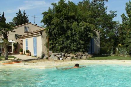 Maison de campagne authentique - Lavérune - Casa