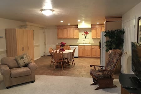 Roomy basement apartment near Thanksgiving Point - Highland - Apartamento