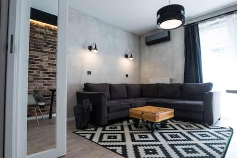 Apartament nad Wisłą,  bezpłatny parking