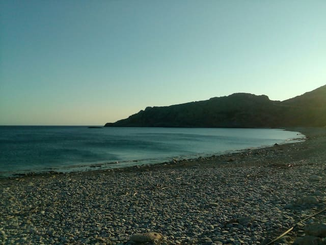 STUDIO NEXT TO THE SEA -KRIOS BEACH (with WIFI ) - Chania - Ev