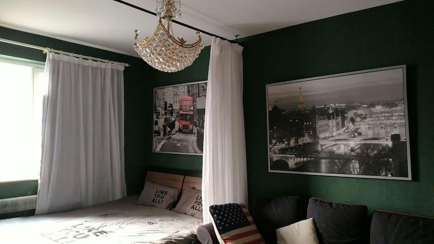 中心城区 长安街稀缺房源 地铁步行200米 全南向大卧室 双人床 晚上睡觉安静 - Beijing - Apartment