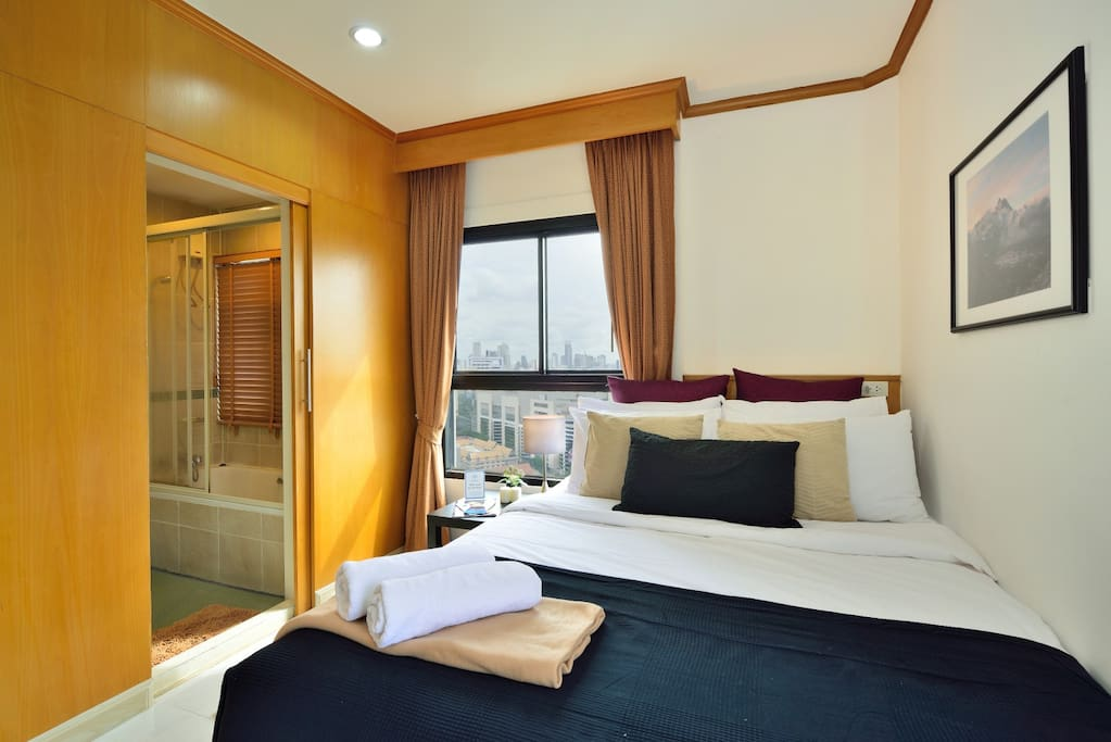 Master Bedroom with private barthroom