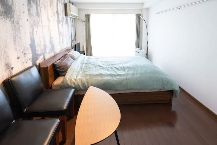 Great location! 2 mins walk from Dazaifu Station.