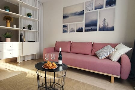 Cozy & bright apartment in Vilnius old town,Užupis
