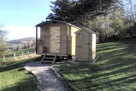 Shepherds Hut with a view