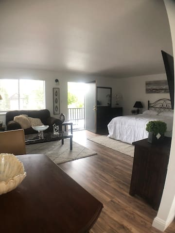 Large Downstairs Studio Unit * Heart of Midtown
