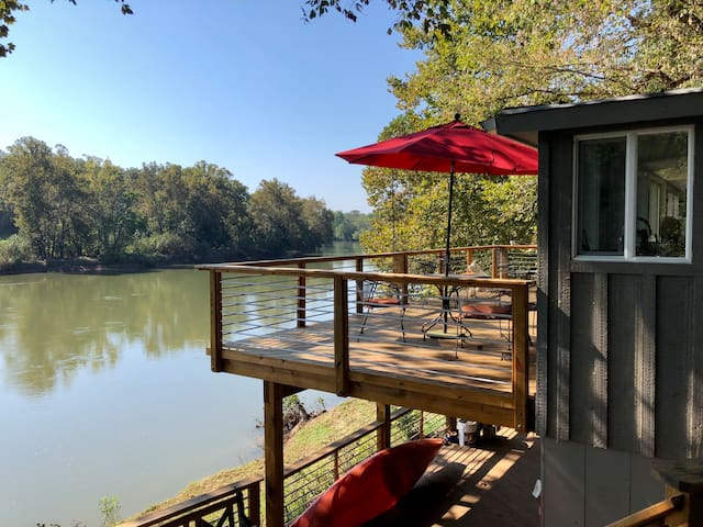 Riverfront Getaway w/ Breathtaking Views!