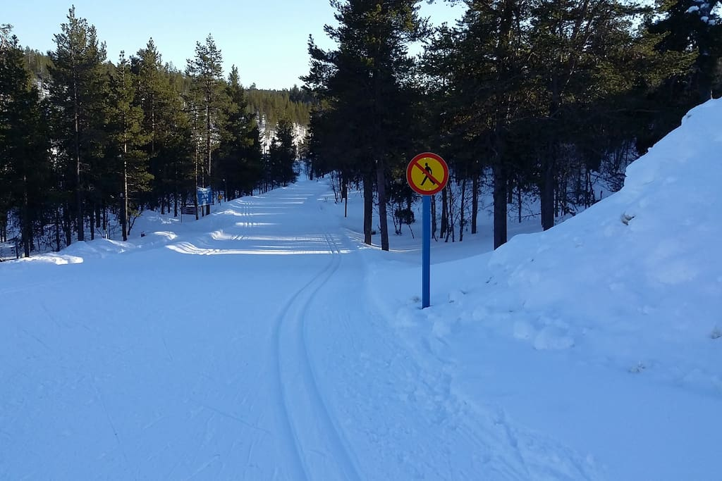Skiing at the winter time, lots of trekking routes at summer and autumn