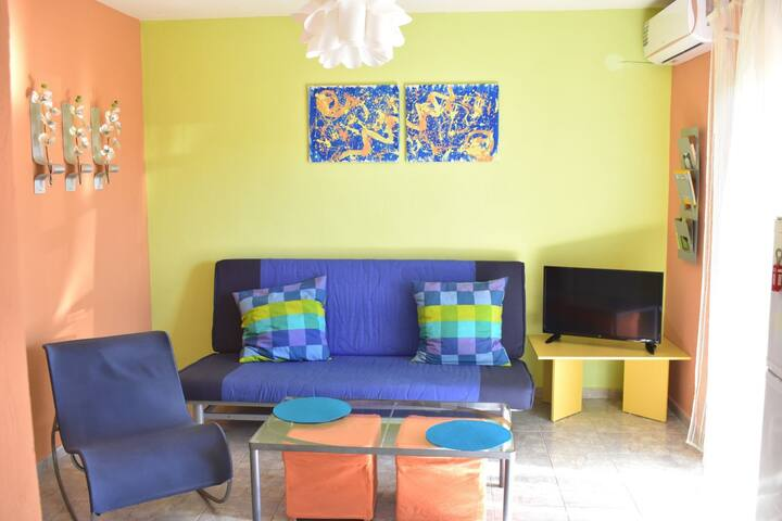 Modern Happy color apartment Chalkidiki
