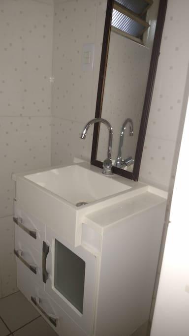 Banheiro em 2 Ambientes