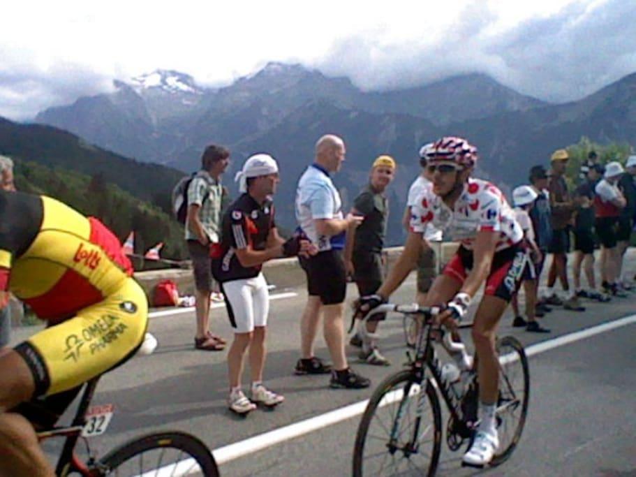 tour de France montée l'alpes d'huez