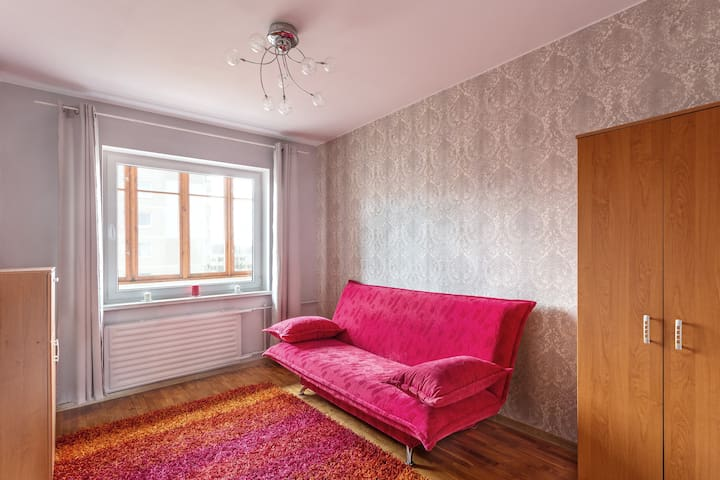 """Cozy room near """"Akropolis"""" and city center"""