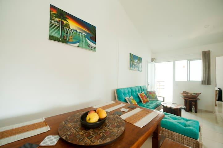 Manga Verde Beach 15: Sweet Paradise - Ilha de Itamaracá - อพาร์ทเมนท์