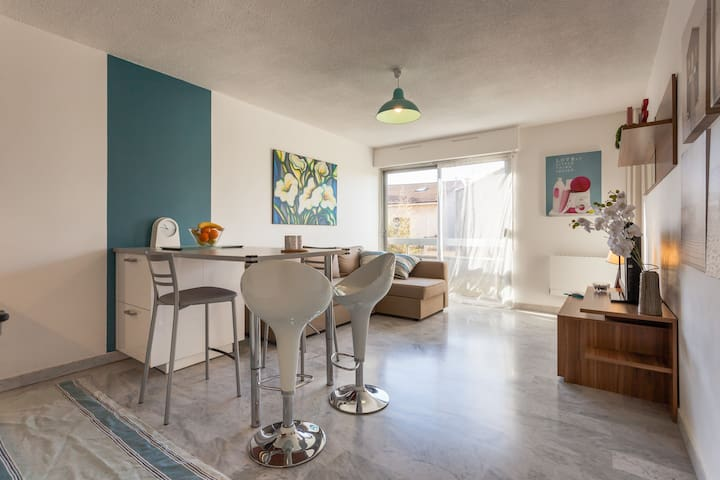 Appartement T2 Château Golf Borely