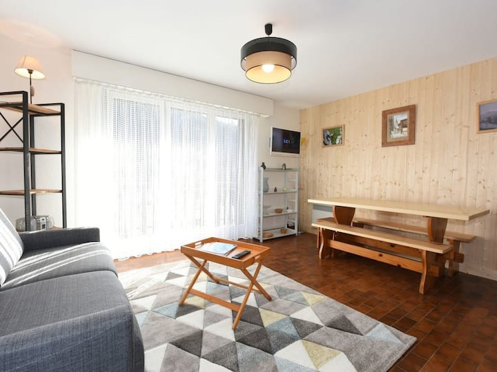 Le Grand-Bornand, Appartement chaleureux en Chalet
