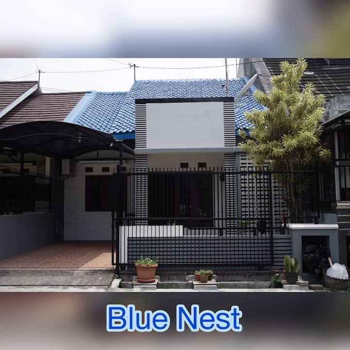 Blue Nest - Near Sleman City Hall & Kaliurang