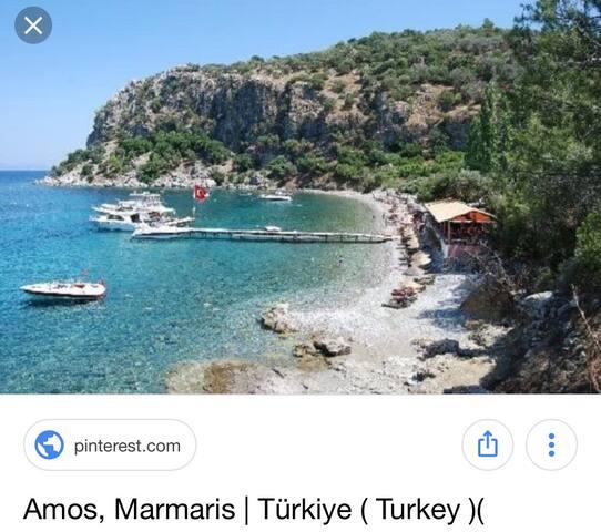 Lux. vacation condo  in Marmaris. 7/24 Security