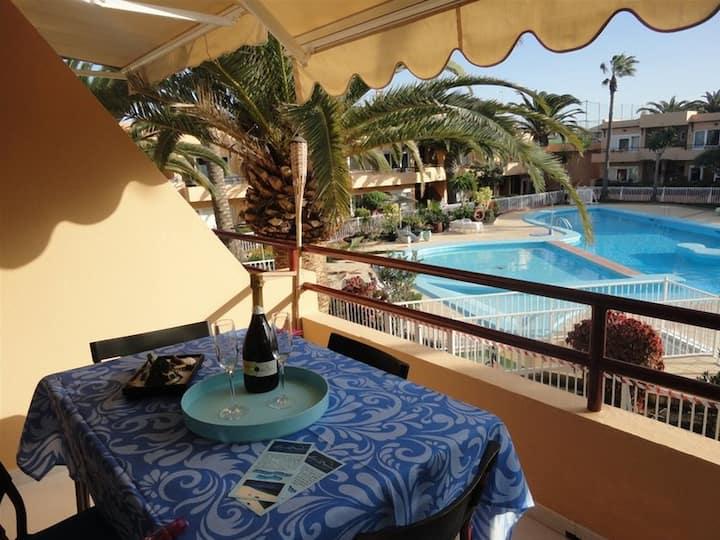 Appartamento LAS VISTAS fronte  piscina wifi