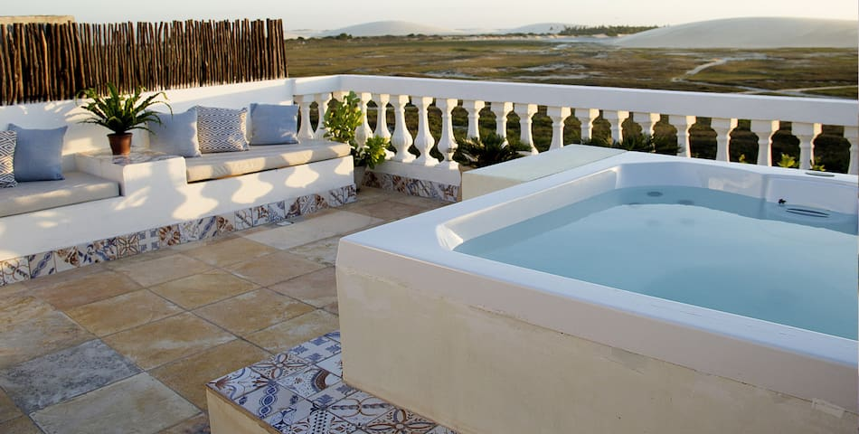 FAZENDA DO KITE: JACUZZI & KITESURF & DUNES VIEWS!