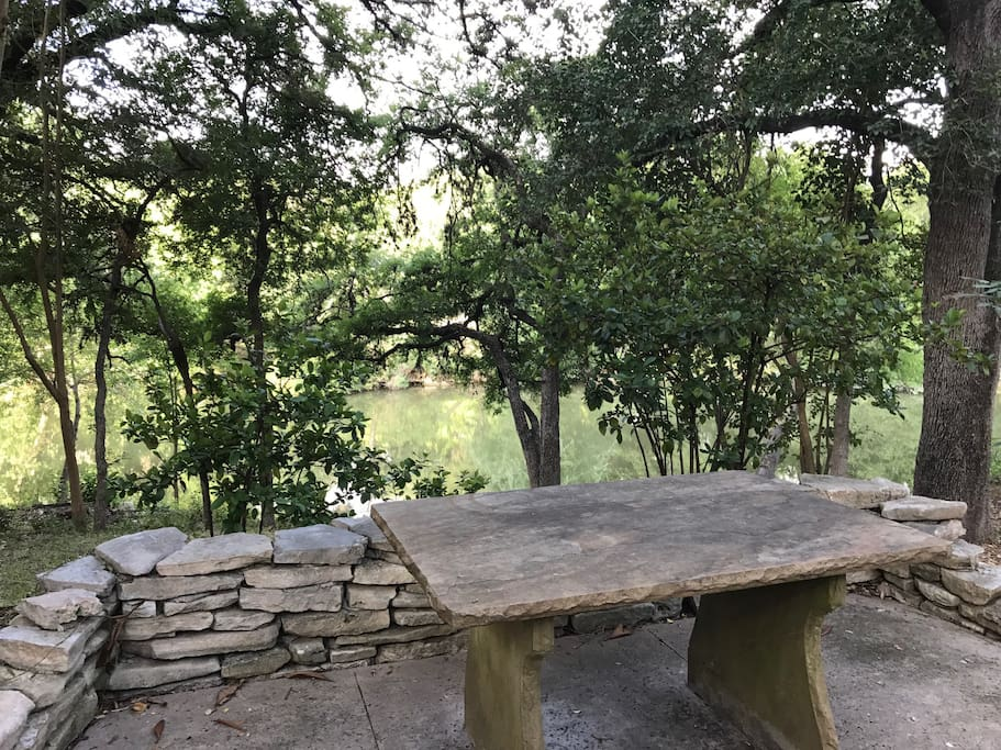 Patio View of  Salado Creek