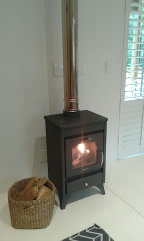Hillside Cottage now has a brand new log burning stove!