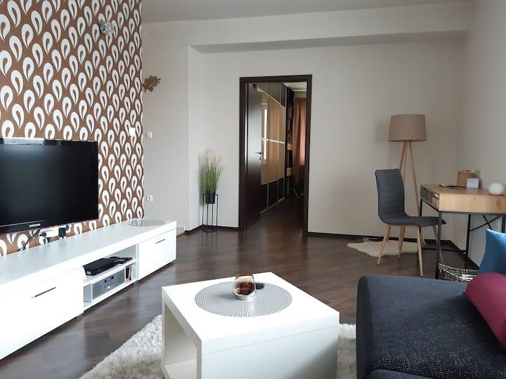 Slnečný 2 izbový byt 5 minút od centra mesta