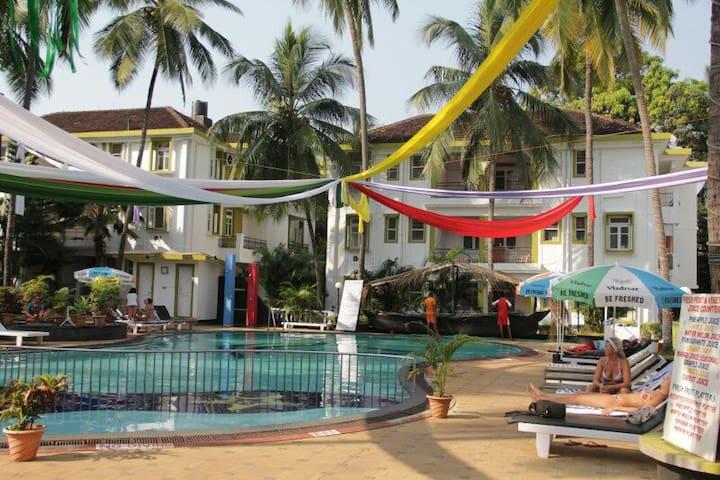 B246, 1BHK-Alor Grande Resort, near Candolim Beach