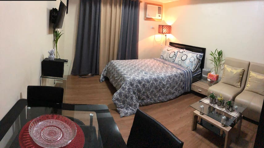 Studio Room/East Bel Air Residences Cainta W-WiFi