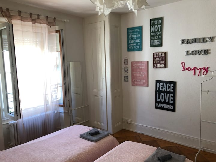 Room for rent in the heart of Geneva