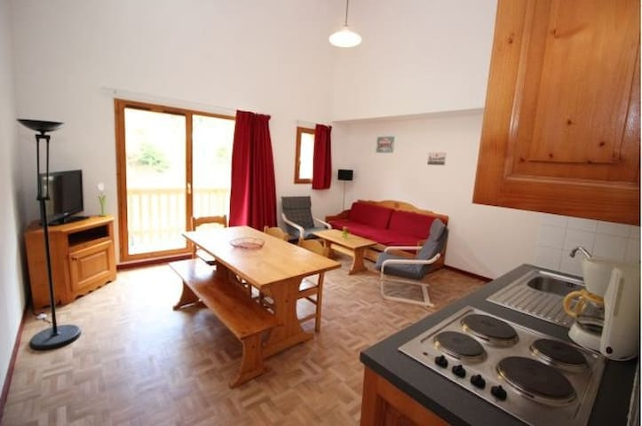 54m2 Duplex for 8 adults