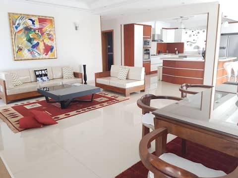 Appartement de luxe moderne et équipé de 200m2