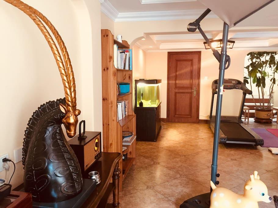 客厅休闲健身区