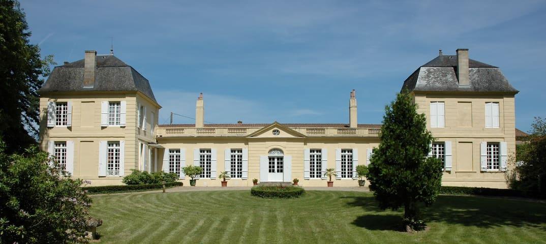 Aile privative au sein du château Loupiac-Gaudiet
