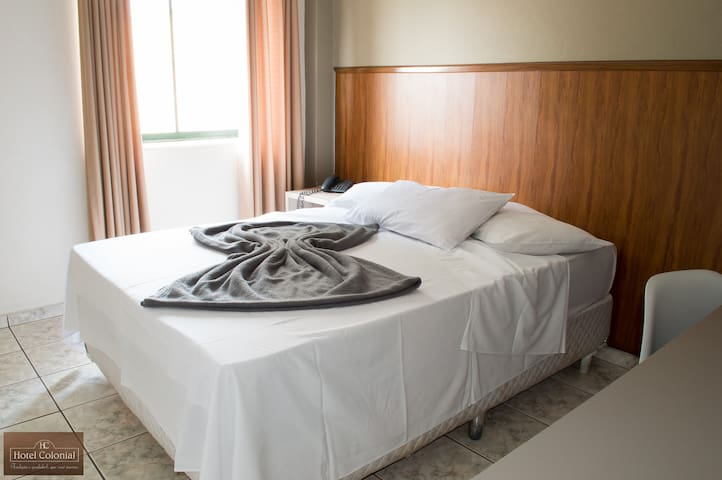 Itatiba Hotel Colonial - Qto Luxo Ar Condicionado