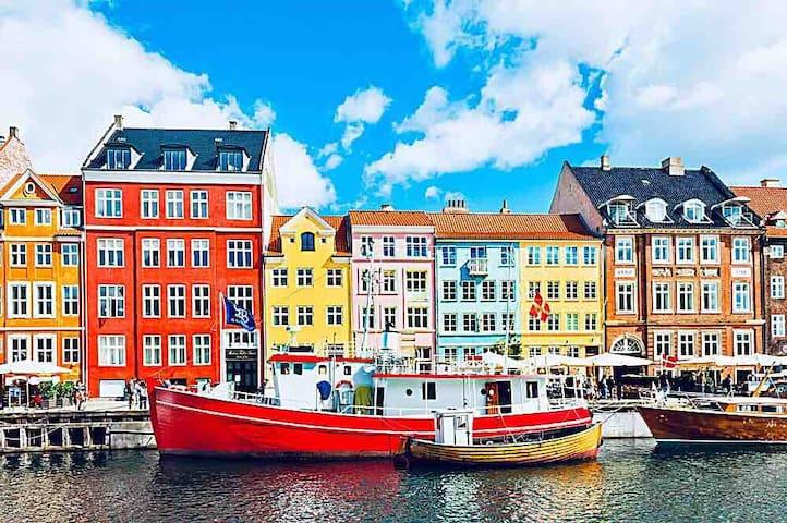 Whole apartment in center of Copenhagen!
