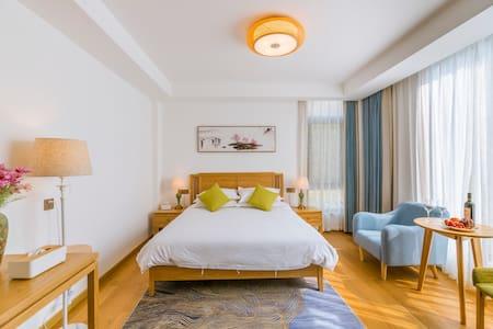 黄山 宏村 景观大床房 ,精美双人早餐,超大公区 1
