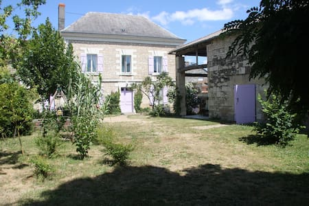 200yr old character-filled French country house - Loudun - Haus