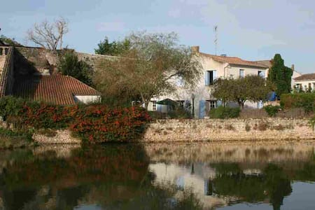 Riverside Charantaise house near to beaches - Mornac-sur-Seudre - House