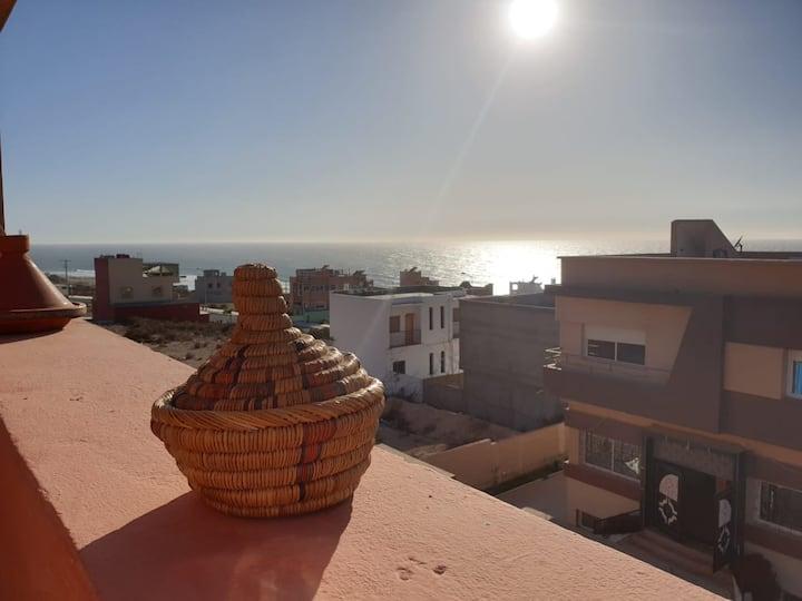 Imsouane spot house(Avec Grand Balcon vue sur mer)