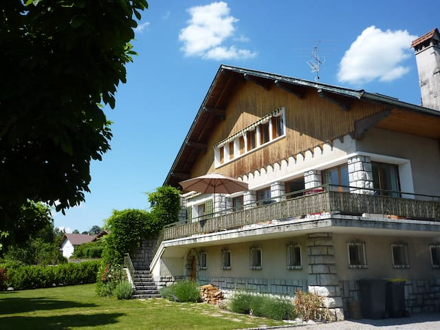 Chambre individuelle, bed and breakfast - 安錫勒維厄(Annecy-le-Vieux) - 家庭式旅館