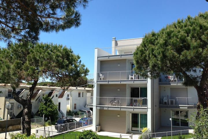 Modern holiday home close to sea front, in Rosolina Mare, near Venice