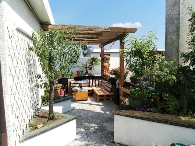 Attico panoramico sul Parco - Monza - Apartment