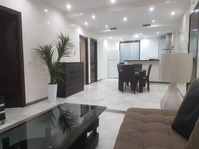 Appartement plein centre à 30 mètres de la plage