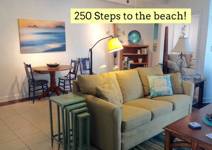 Location! 250 Steps to Best Beach - Townhouse