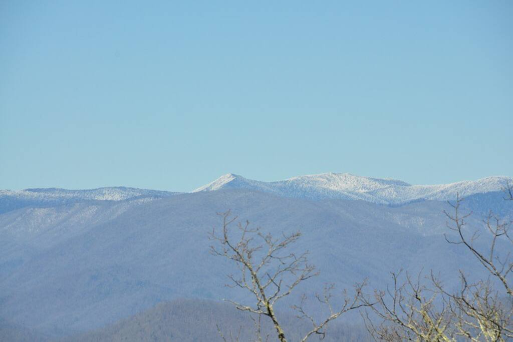 The View of Clingman`s Dome