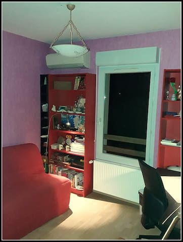 Room on Toulouse ideal for tourists