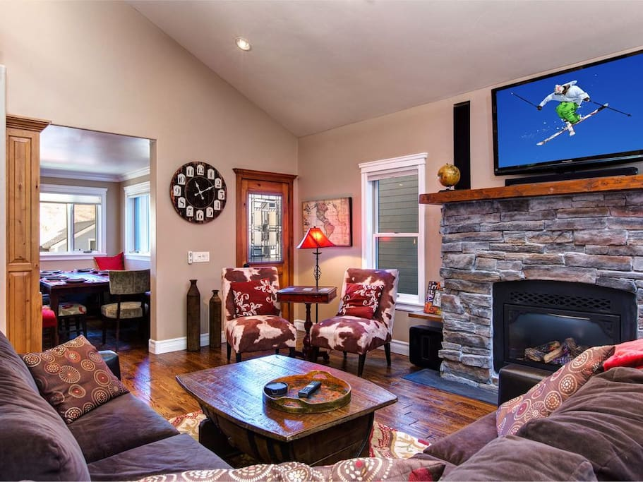 Relax in your cozy great room!